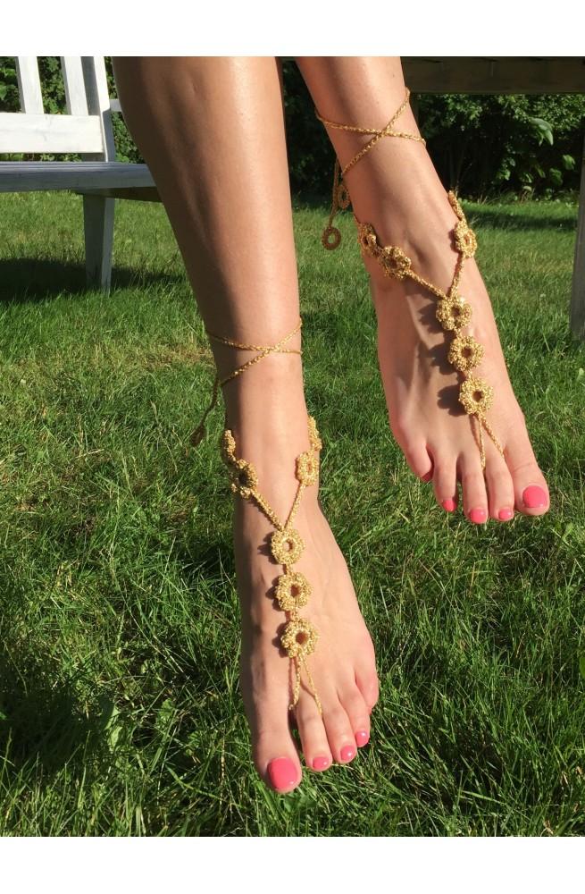 La tinki Kwiatki Gold